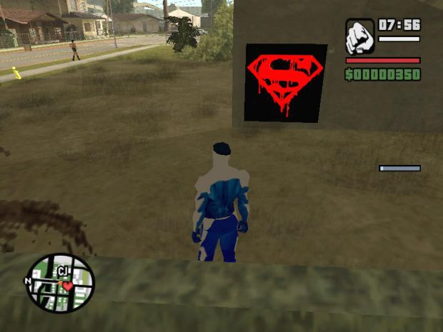 Superman Spray Tags