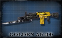 Version 10 - Golden AK490