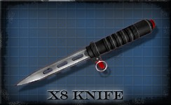 Version 10 - X8 Ballistic Knife