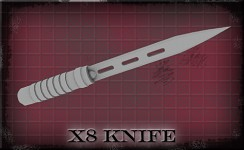 Version 10 - X8 Ballistic Knife (WIP)
