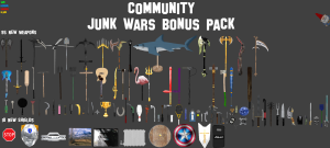 Community Junk Wars Pack Weapons