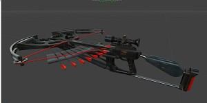 Stealth crossbow