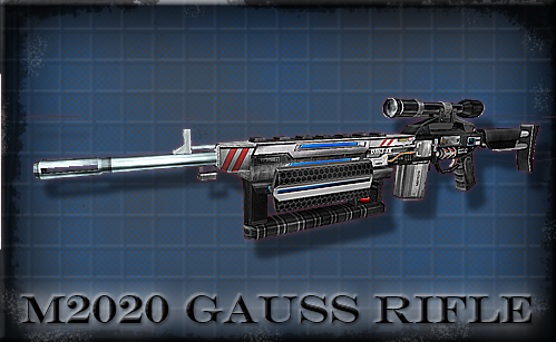 Version 10 - M2020 Gauss Marksman Rifle