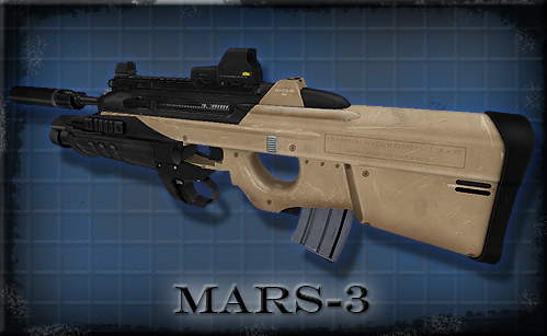 Version 10 - MARS-3 CQB Assault Rifle