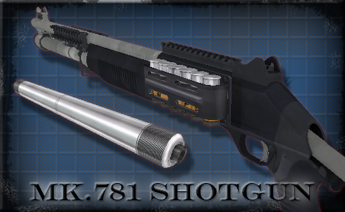Version 10 - Mk. 781 Shotgun