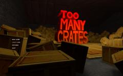 Too Many Crates! Menu