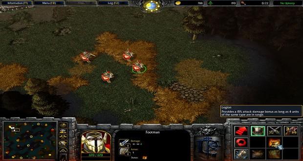 Range of Legion