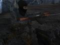 Mec soldier Woodland camo