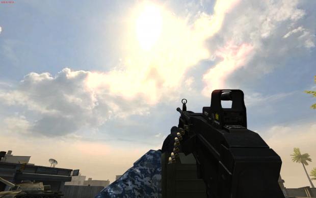 M249 + Eotech
