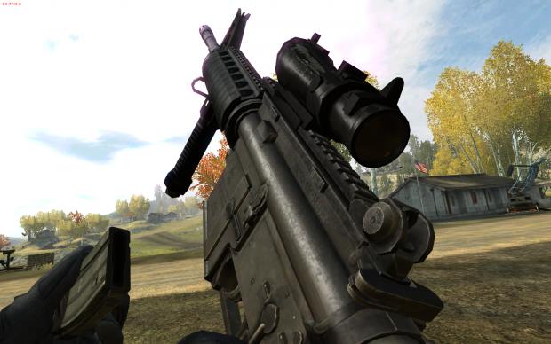 M4 Front Grip + Acog