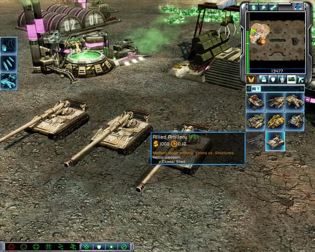 Allied Artillery