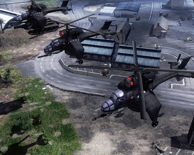 Hind Transport GunShip