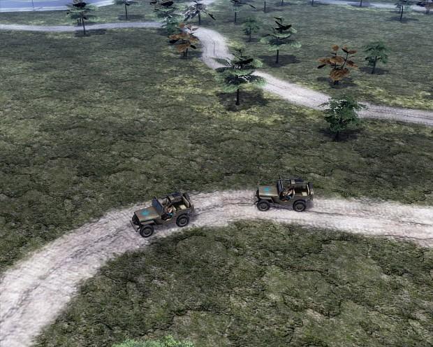 Allied Jeep