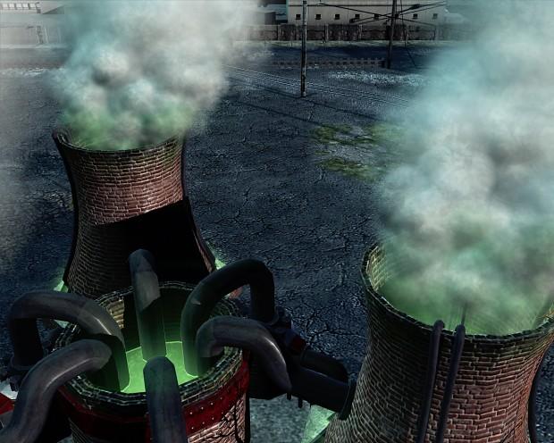 Soviet Nuclear Power Plant
