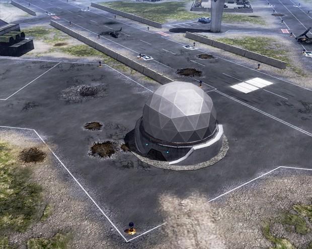 Soviet Radar dome