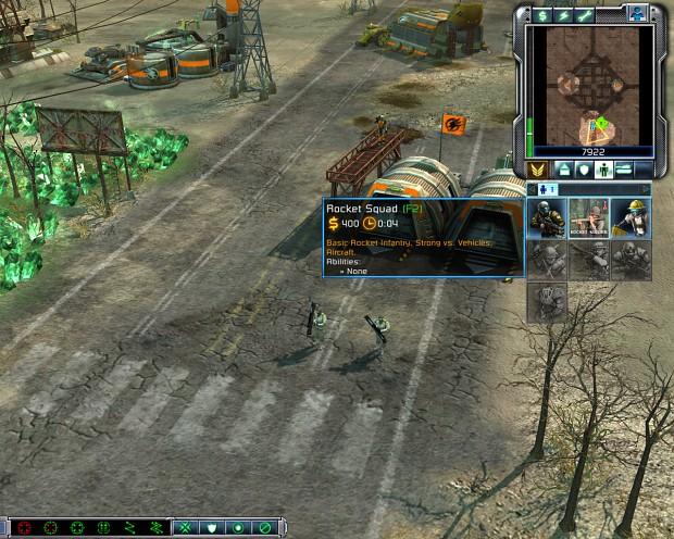 Allied Rocket Squad