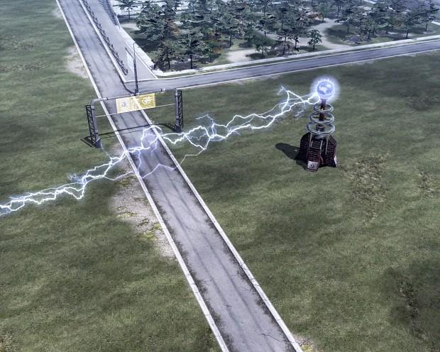 Tesla Coil firing!