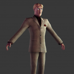 Donny T pose render