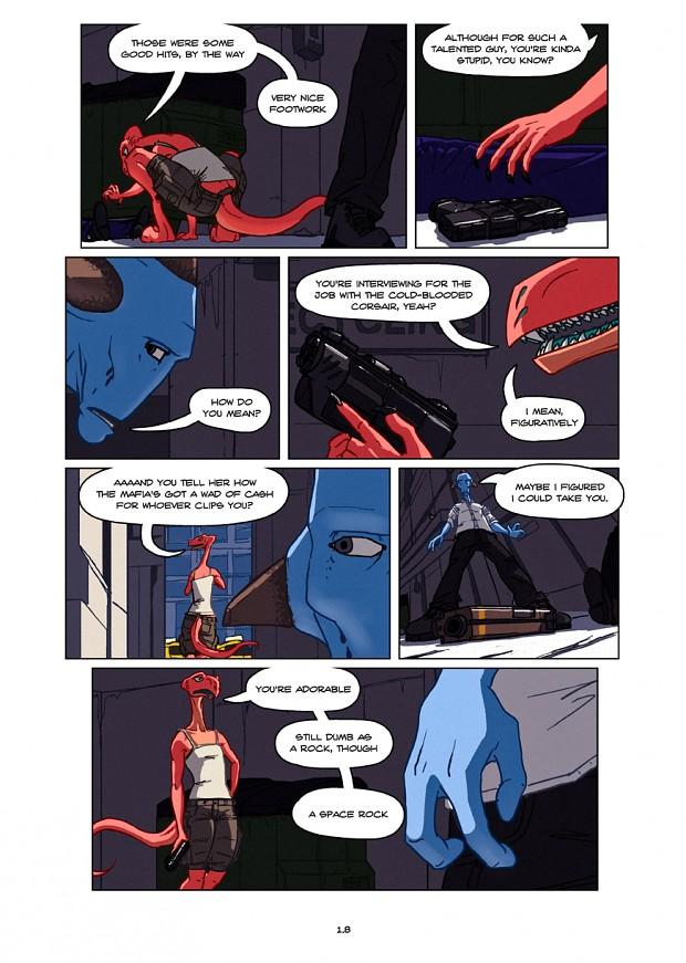 Dullahan Comic 1.8