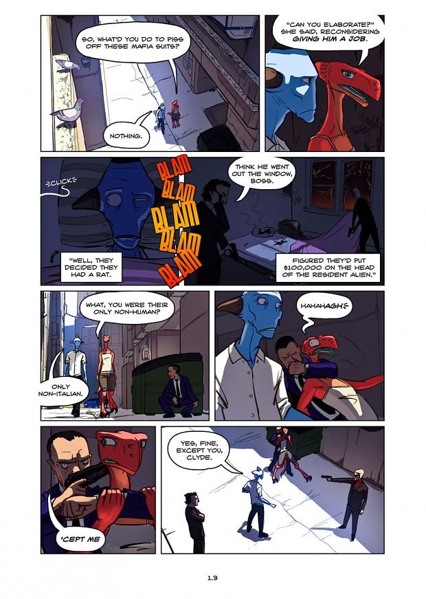 Dullahan Comic 1.3