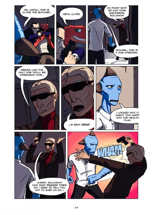Dullahan Comic 1.4
