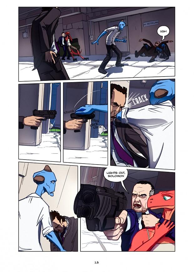 Dullahan Comic 1.5
