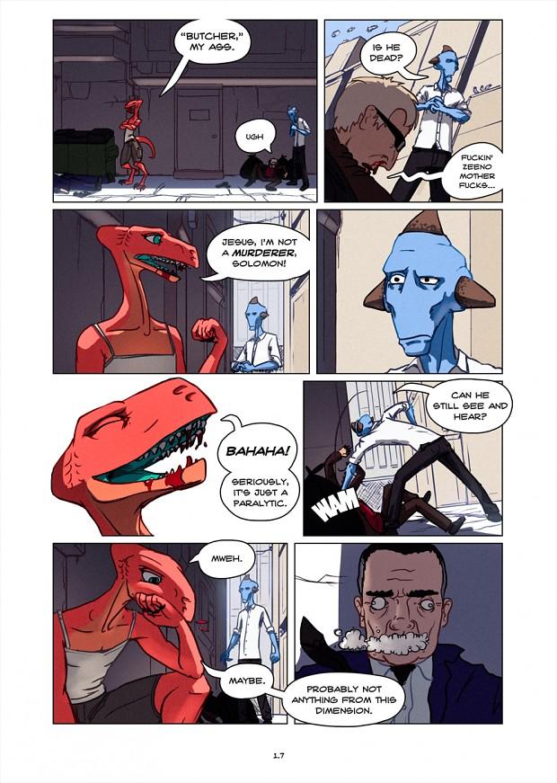 Dullahan Comic 1.6