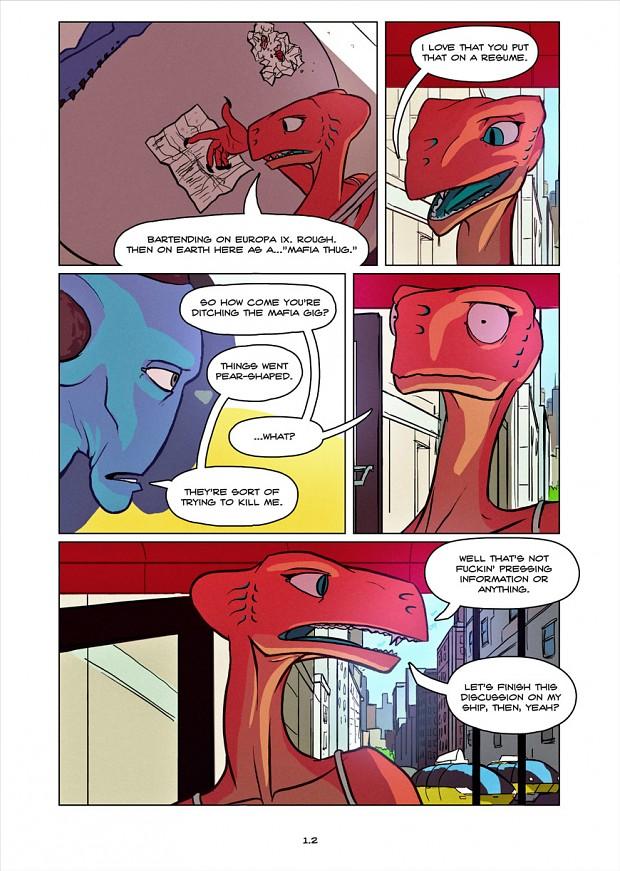 Dullahan Comic 1.2