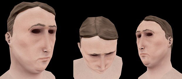 Civvie head