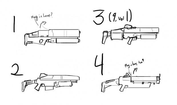 Shotgun concepts