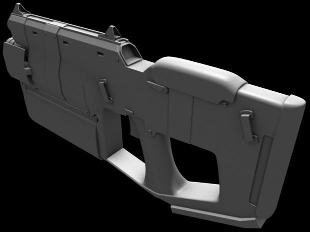 M207 Mastiff Submachine Gun