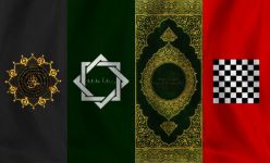 Muslim banners