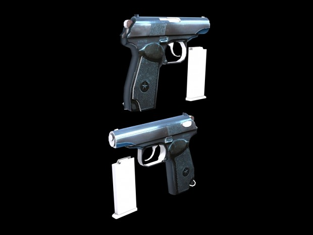 New Updated Modles (WIP Texture) Makarov