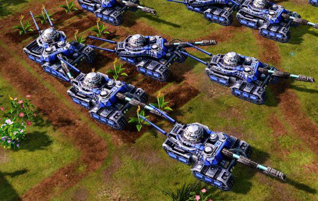 Chrono Tank image - C&C: RARENA mod for C&C: Red Alert 3 ... Red Alert 3 Tank