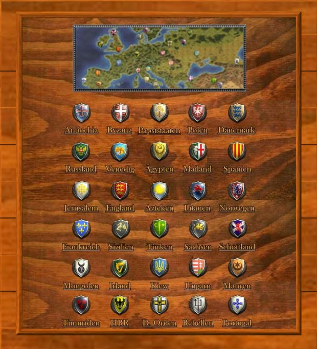 Sitemaps With Embed Option: Ultimate Mod For Medieval II: Total War