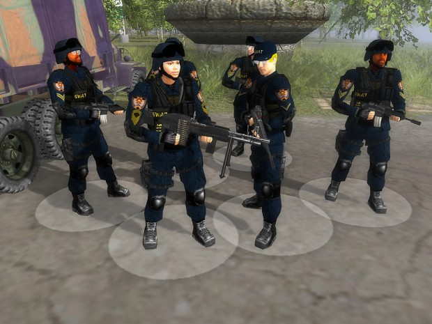 The reworked SWAT team