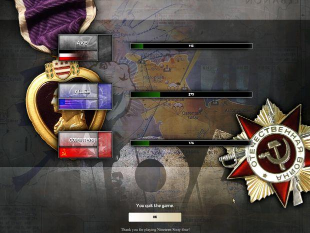 End-Game Menu Alpha
