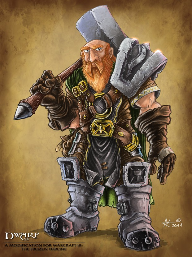 Coloured Dwarf: Morn