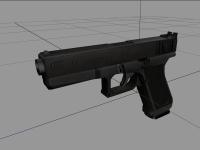 Glock 17 in editor
