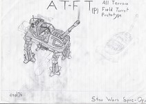 Imperial AT-FT Concept Art