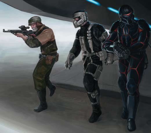 all of the classes concept art image star wars spec ops mod for