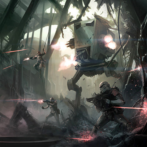 Stormtrooper Concept Art