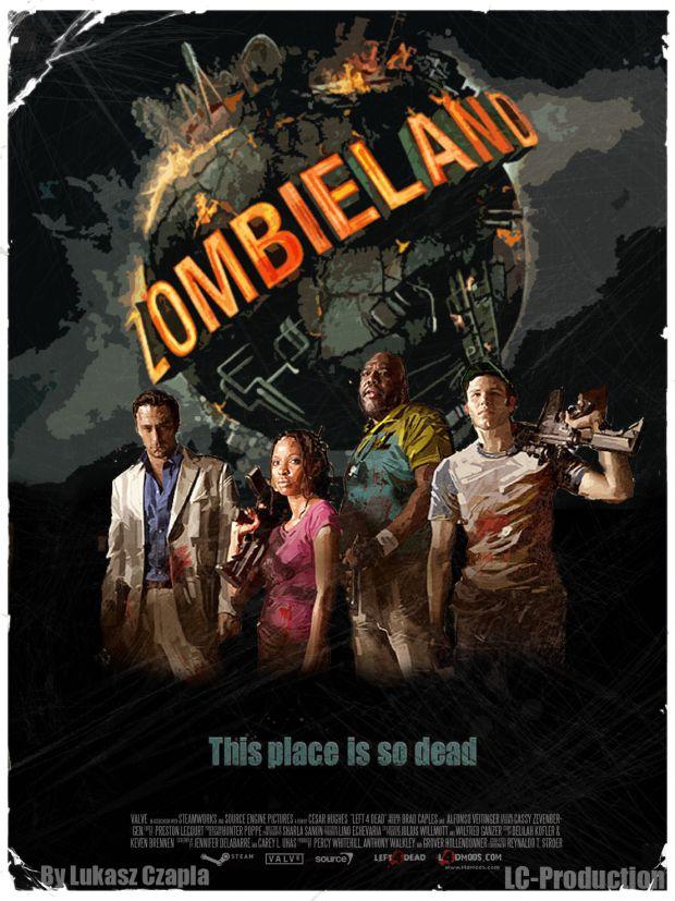 Left 4 Dead 2: Zombieland Campaign Poster
