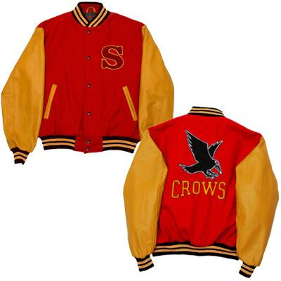 WORKING ON CLARK'S CROWS JACKET