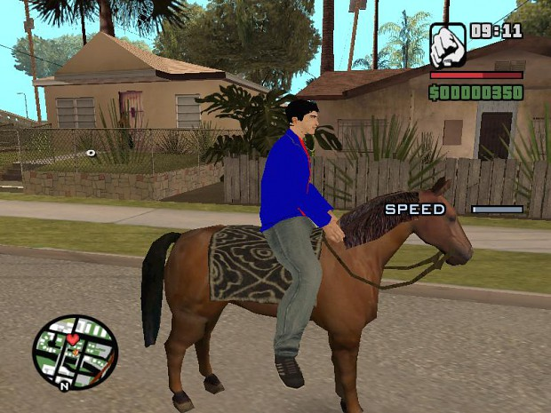 Whats growing up on a farm without a horse? image - gta smallville mod