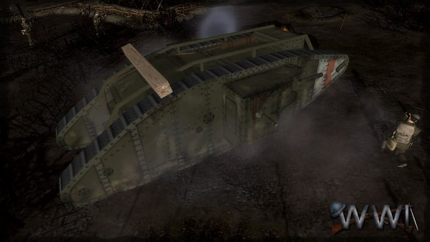 MK-IV tank