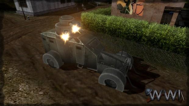 Lancia armored car