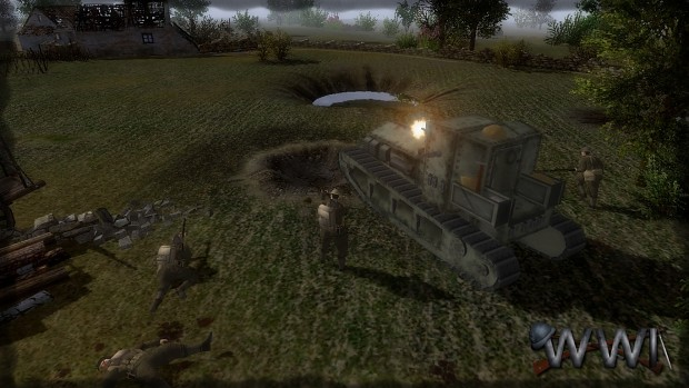 New 3dmodel of Whippet tank