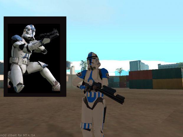 Las Venturas Police Clone Trooper