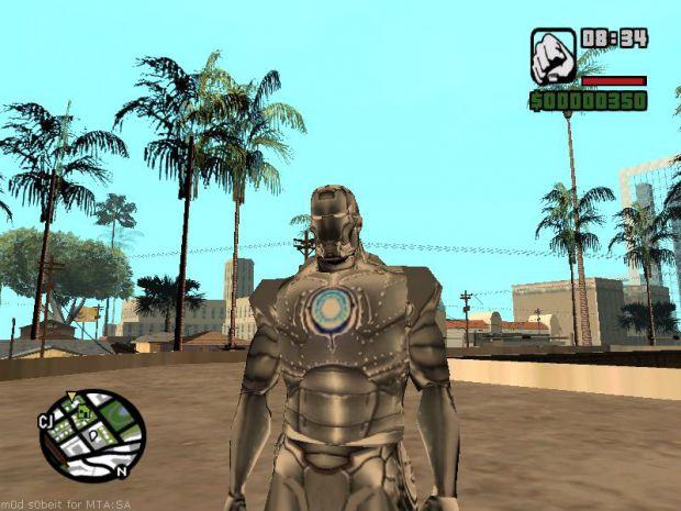 Silver Iron Man or War Machine for CJ